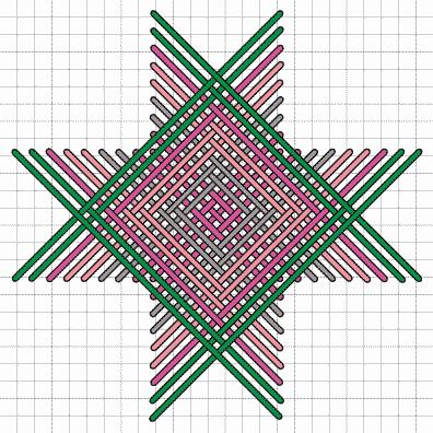 Square Herringbone Stitch