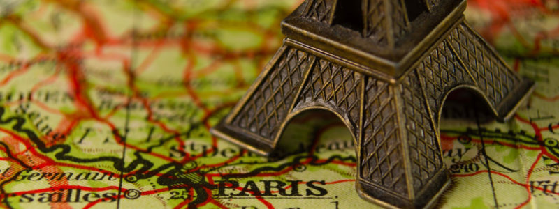 A Tale Of Two Cities Needlepoint Tour of London & Paris, April 2021